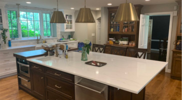 A Modern Take on an Older Kitchen in Villanova, PA