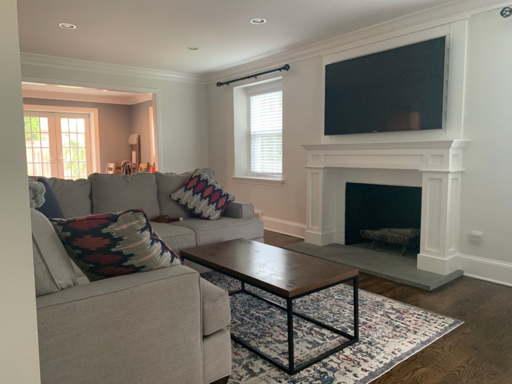 An Interior Facelift for This Older Home in Bryn Mawr, PA